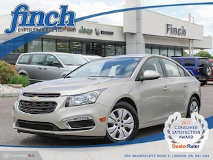 2015 Chevrolet Cruze 1LT - Bluetooth -  Siriusxm - $117.76 B/W Sedan