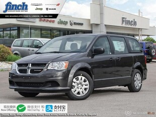 2019 Dodge Grand Caravan Canada Value Package - $162 B/W Van 2C4RDGBG6KR780187