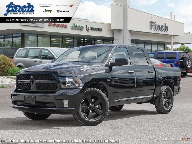 New 2019 Ram 1500 Classic Night Edition - Android Auto - $238 25 B/W For  Sale in London, ON | Near Woodstock, ON, Strathroy & Ingersoll |