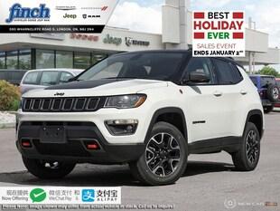 2020 Jeep Compass Trailhawk - $223 B/W SUV 3C4NJDDB0LT104808