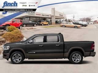 New 2020 Ram 1500 Longhorn - Sunroof - Leather Seats - $422 B/W Truck Crew Cab for sale in London ON