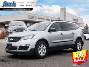 2017 Chevrolet Traverse LS - Touch Screen -  Siriusxm - $140 B/W SUV