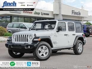 2020 Jeep Wrangler Sport - $269 B/W SUV 1C4HJXDN5LW147074