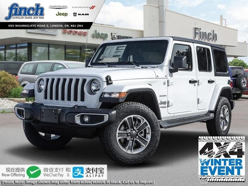 Featured New 2019 Jeep Wrangler Sahara - $282 B/W SUV for sale near you in London, ON