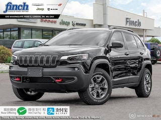 New 2020 Jeep Cherokee Trailhawk Elite - $255 B/W SUV for sale in London ON