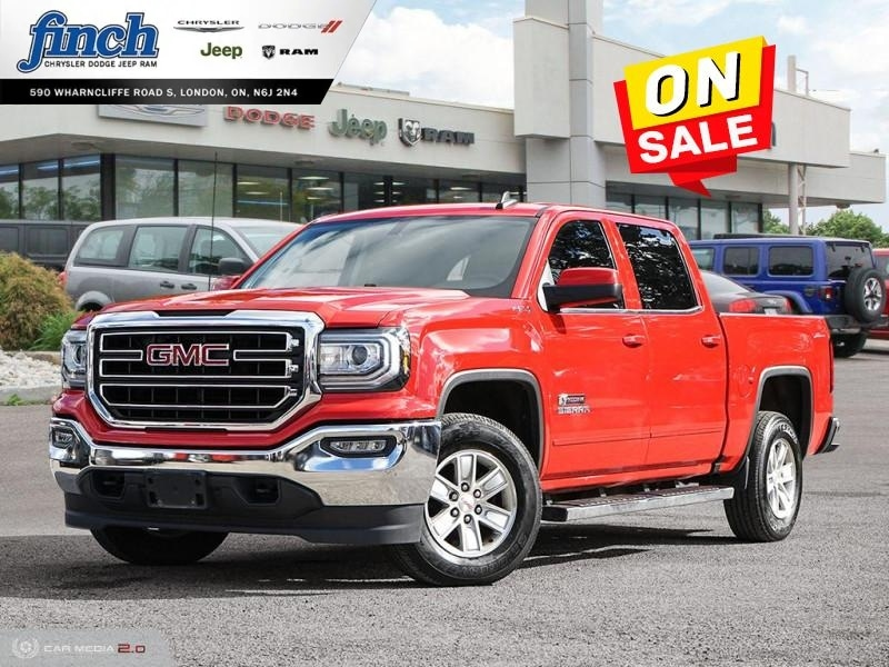 Featured Used 2017 GMC Sierra 1500 SLE -  Bluetooth - $240 B/W Crew Cab for sale near you in London, ON