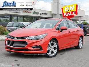 2018 Chevrolet Cruze Premier - Leather Seats - $126 B/W Sedan 1G1BF5SM5J7154662