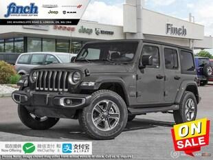 2020 Jeep Wrangler Sahara - $286 B/W SUV 1C4HJXEG3LW210222