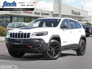 2019 Jeep Cherokee Trailhawk Executive Lease Return SUV 1C4PJMBXXKD152313