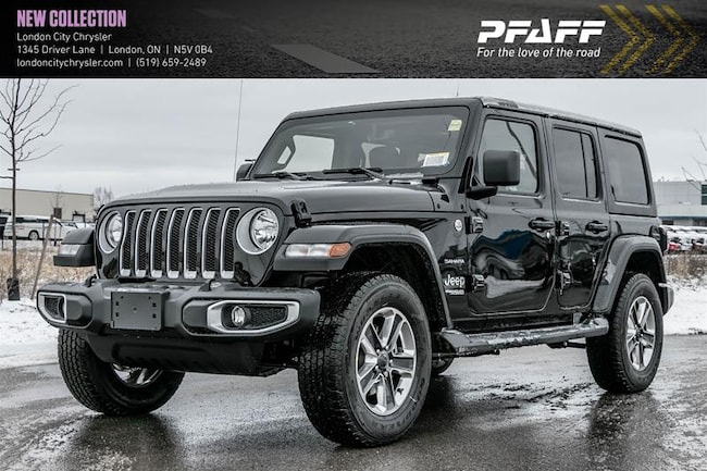 2020 Jeep Wrangler JL Unlimited Sahara SUV