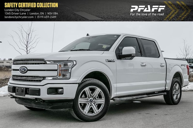 2019 Ford F150 4x4 - Supercrew Lariat - 157 WB Super Crew
