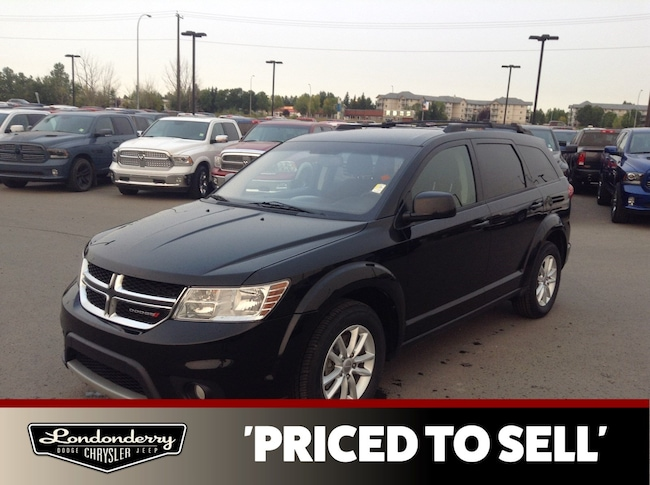 2015 Dodge Journey SXT 7 PASSENGER Accident Free,  3rd Row,  A/C,