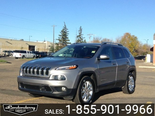 2015 Jeep Cherokee 4WD LIMITED Navigation (GPS),  Leather,  Heated Se 4WD  Limited