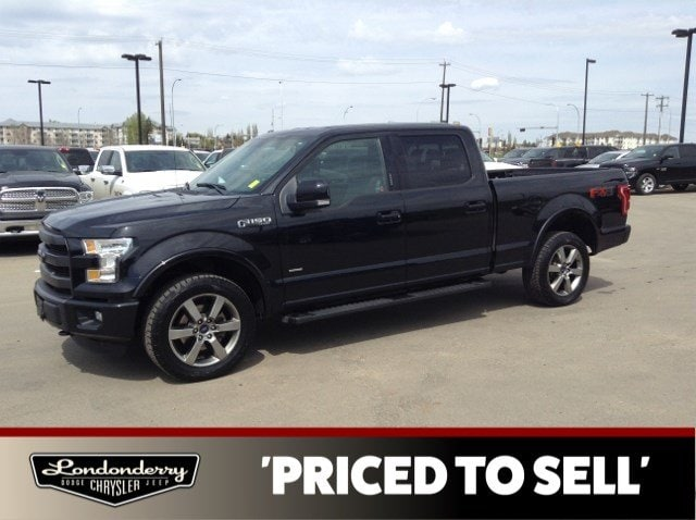 Used 2015 Ford F-150 4WD SUPERCREW FX4 Accident Free