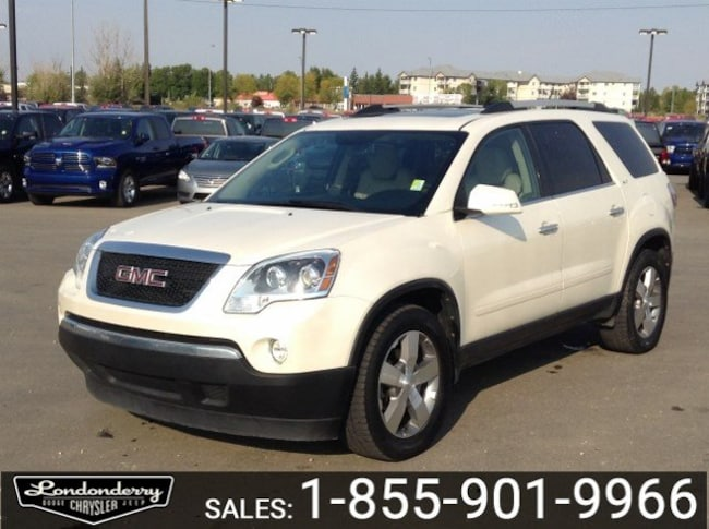 2012 GMC Acadia SLT Accident Free,  Leather,  Heated Seats,  3rd R FWD  SLT1