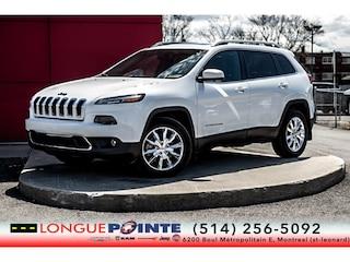 2014 Jeep Cherokee Limited - Cuir - Toit - GPS 30000 KM !!!! Sport Utility