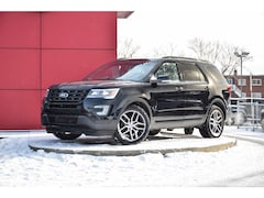 2017 Ford Explorer Sport+ Cuir - Toit Pano - 7 Places - DVD - GPS Sport Utility