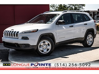 2018 Jeep Cherokee Sport+ 4X4+ Temps Froid + CAM DE Recul Sport Utility