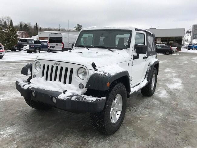2015 Jeep Wrangler Sport VUS