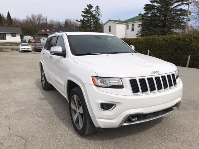 2015 Jeep Grand Cherokee Overland VUS