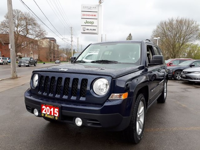 Used 2015 Jeep Patriot For Sale At Manley Motors Limited Vin