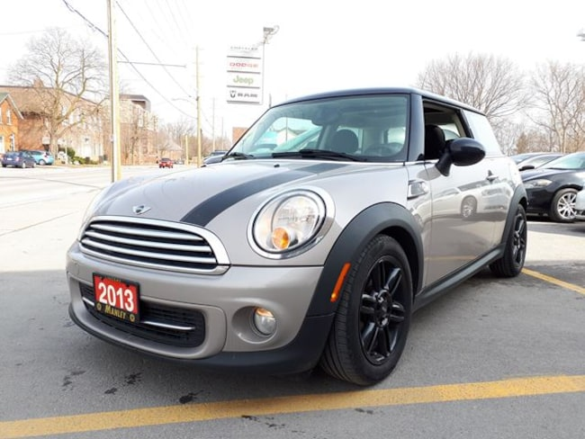 Used 2013 Mini Cooper Hardtop For Sale At Manley Motors Limited