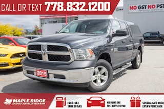 2015 Ram 1500 ST - WELL MAINTAINED 4WD Quad Cab 140.5 ST