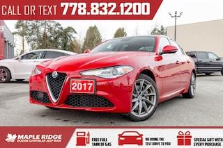 2017 Alfa Romeo Giulia | AWD Pano-Roof Sedan
