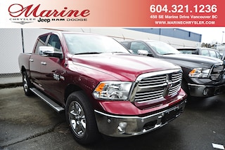 New 2018 Ram 1500 Big Horn Truck Crew Cab 55J8056 for sale in Vancouver, BC