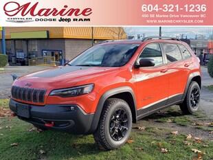 2021 Jeep Cherokee Trailhawk Elite SUV 1C4PJMBX8MD128157