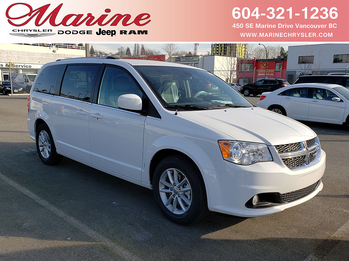New 2020 New Dodge Grand Caravan For Sale Lease Vancouver Bc Stock 42l2377 2c4rdgcg0lr162377