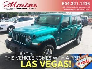 2019 Jeep Wrangler Unlimited Sahara SUV 1C4HJXEG0KW647836