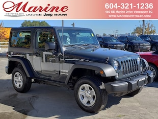 2018 Jeep Wrangler JK Sport, Automatic + Air Conditioned, Only 24,000 km! SUV