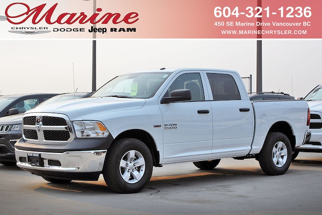 Used 2017 Ram 1500 ST Truck Crew Cab For Sale Vancouver, BC