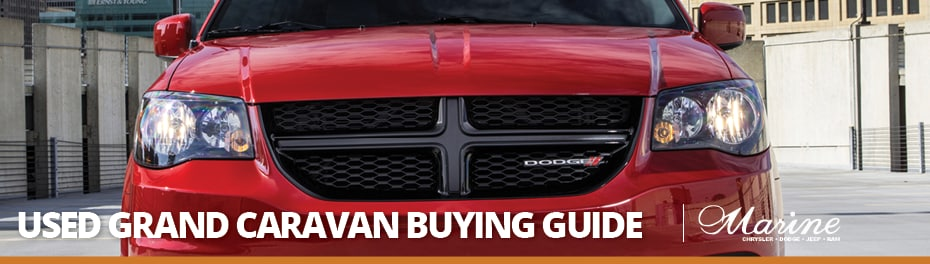 Used Grand Caravan Buying Guide