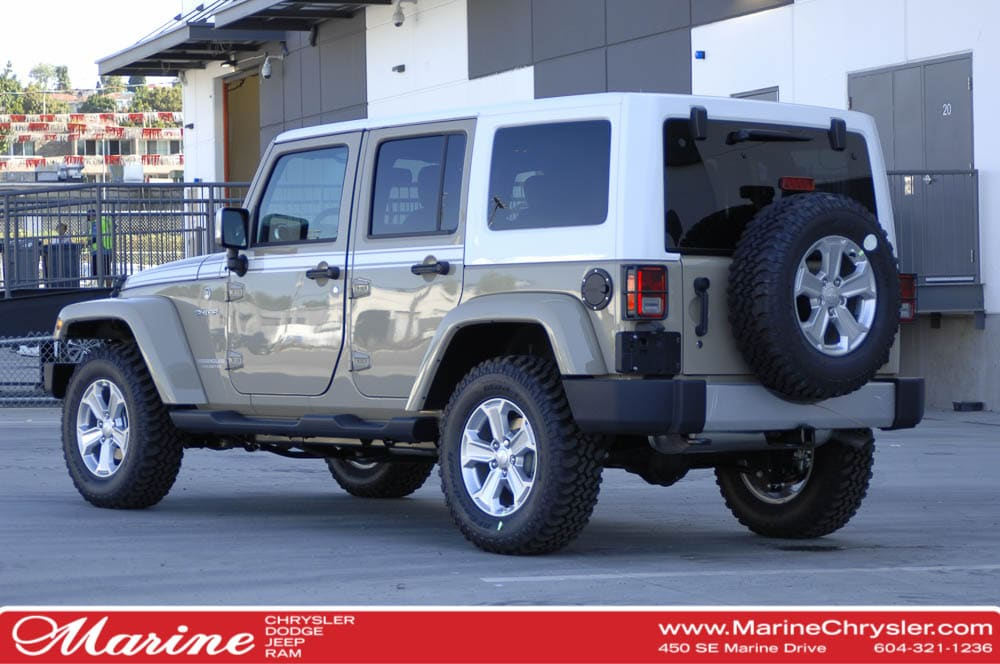 ... New 2017 Jeep Wrangler Unlimited Chief   $4,000 OFF! SUV For Sale/Lease  Vancouver ...