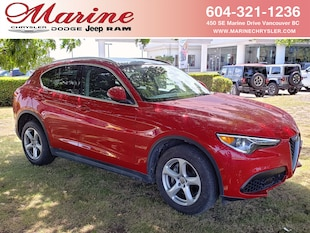 2018 Alfa Romeo Stelvio AWD, Leather, Pano Sunroof, Only 6,900 km!  SUV BC7899