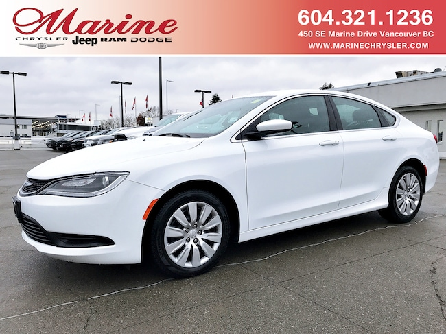 Used 2016 Chrysler 200 LX - Low Mileage, No reported Damage Sedan For Sale Vancouver, BC