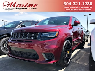 New Chrysler Dodge Jeep Ram 2018 Jeep Grand Cherokee Trackhawk SUV for sale in Vancouver, BC
