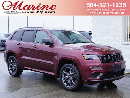 Featured new 2020 Jeep Grand Cherokee Limited X SUV for sale in Vancouver, BC