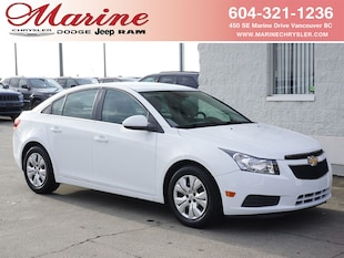 2012 Chevrolet Cruze LT Turbo Sedan A6J2834A