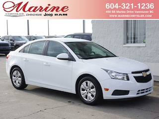 Bargain Used 2012 Chevrolet Cruze LT Turbo Sedan A6J2834A for Sale in Vancouver BC