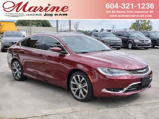 Bargain Used 2016 Chrysler 200 C with 9-Speed and Sun/Sound Group, 63,000 km Sedan 68L8656A for Sale in Vancouver BC