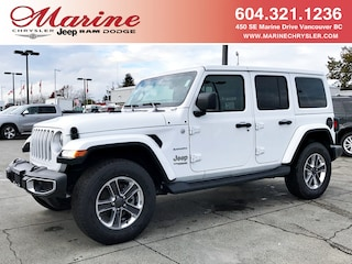 New 2018 Jeep Wrangler Unlimited Sahara SUV 68J3926 for sale in Vancouver, BC