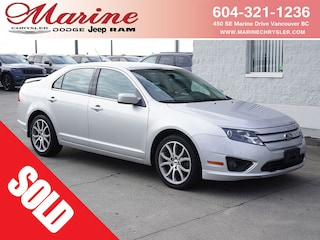 Bargain Used 2012 Ford Fusion SE Sedan A6J3882A for Sale in Vancouver BC