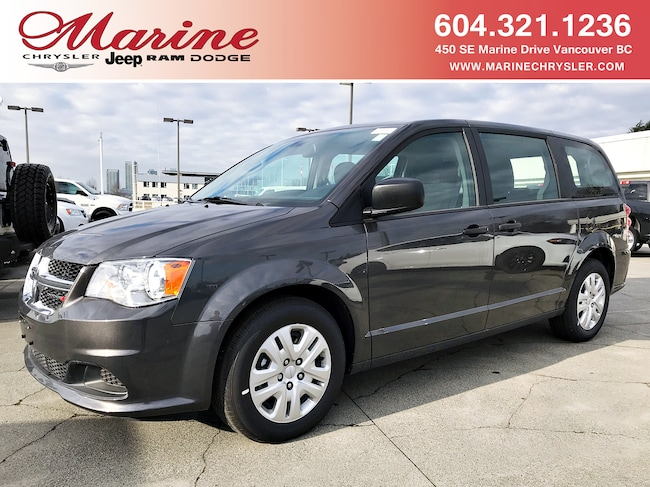 New 2018 Dodge Grand Caravan Canada Value Package Van For Sale/Lease Vancouver, BC