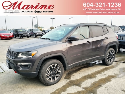 Featured new 2019 Jeep Compass Trailhawk 4x4 SUV for sale in Vancouver, BC
