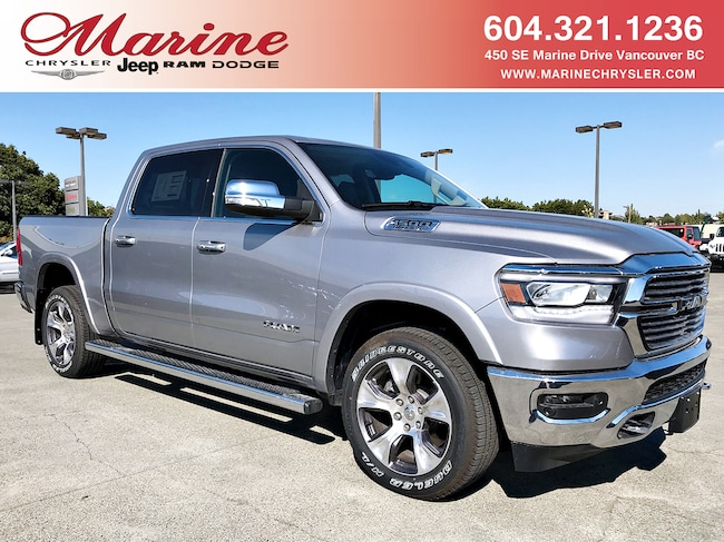 New 2019 Ram 1500 Laramie Truck Crew Cab For Sale/Lease Vancouver, BC
