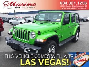 2019 Jeep Wrangler Unlimited Sahara SUV 1C4HJXEG7KW628491