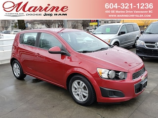 Bargain Used 2012 Chevrolet Sonic LS Hatchback BI7868A for Sale in Vancouver BC
